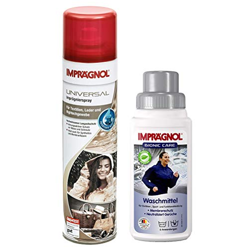 Imprägnol Spray 400ml + Imprägnol Bionic Care Waschmittel 250ml: Bündel...