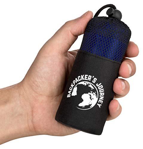Backpacker's Journey Reiseschlafsack (nur 155g), ultraleichter und...