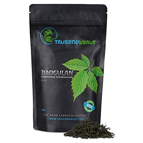 Tausendkraut Premium Jiaogulan Aroma - 100g - Frische Ernte -...