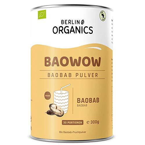 Bio Baobab Pulver Berlin Organics - vom Affenbrotbaum - Vitamin C -...