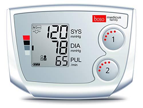 boso medicus family – Partner-Blutdruckmessgerät mit 2...