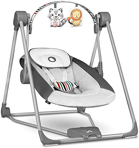 Lionelo Otto Baby Wippe Baby Schaukel Spielbogen mit interaktiven...
