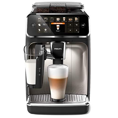 Philips 5400 Serie EP5447/90 Kaffeevollautomat, 12 Kaffeespezialitäten...