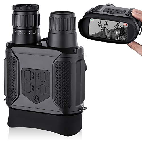 Digitales Nachtsichtgerät, Nachtsicht-Fernglas Aufnahme von Fotos und...