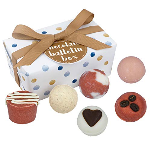 Bomb Cosmetics Chocolate Bath, Geschenkset, 1er Pack (1 x 6 Stück)