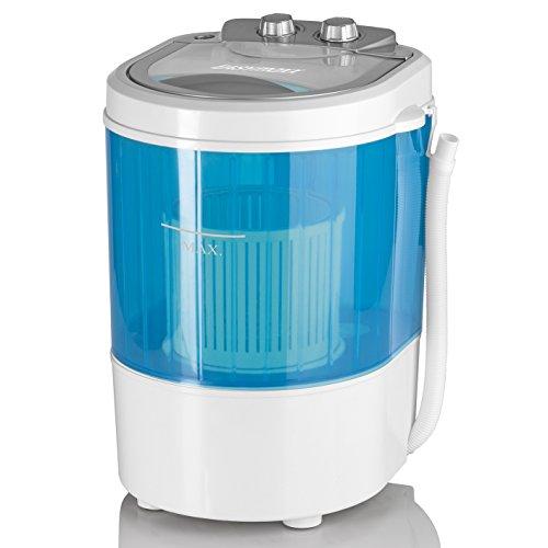 EASYmaxx Mini-Waschmaschine mit Schleuder Campingwaschmaschine Mini...