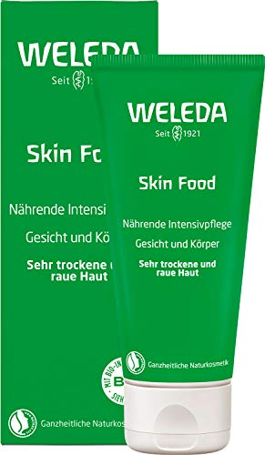 WELEDA Hautcreme Skin Food, reichhaltige Naturkosmetik Körpercreme zur...