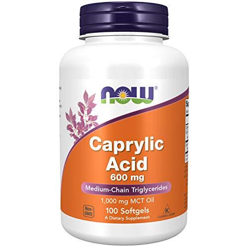 Now Foods I Caprylic Acid (Caprylsäure) 600mg I Für die Verdauung I 100...