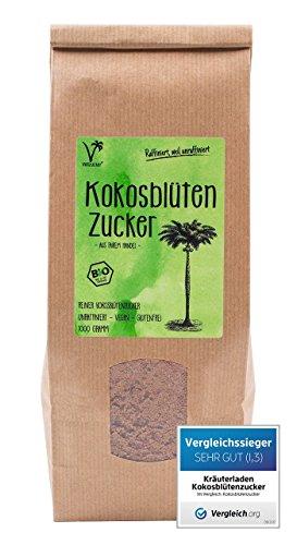 Kräuterladen,com Kokosblütenzucker Bio, 1kg