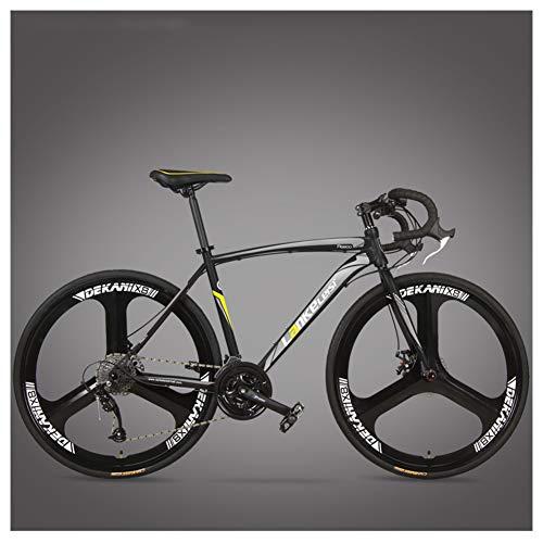 NENGGE Rennrad Fahrrad, Erwachsene Rahmen aus Kohlenstoffstahl Fahrrad mit...