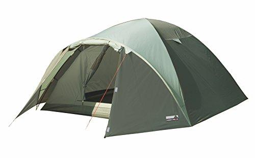 High Peak Kuppelzelt Nevada 3, Campingzelt mit Vorbau, Iglu-Zelt für 3...
