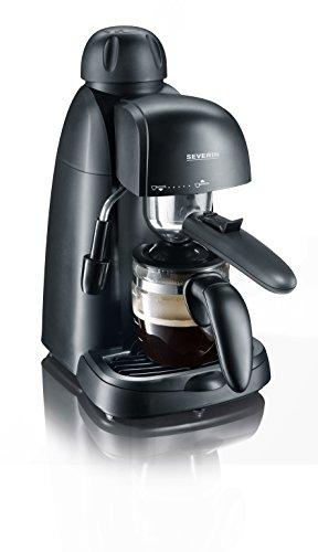 SEVERIN Espressomaschine, kleine Kaffeemaschine für bis zu 4 Tassen...