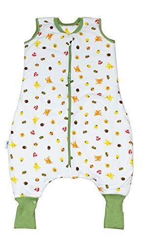 Schlummersack Ganzjahres Schlafsack mit Füssen und verlängerten...