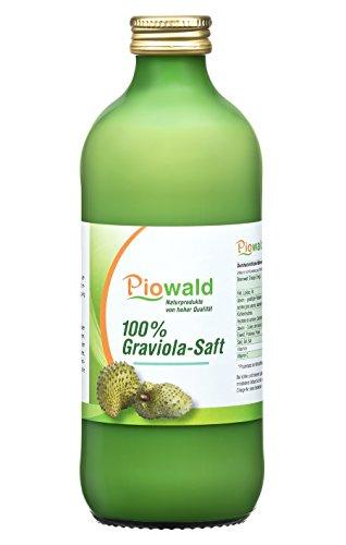 Graviola Saft - 500 ml | 100% Direktsaft ohne Zusätze | Vegan und...