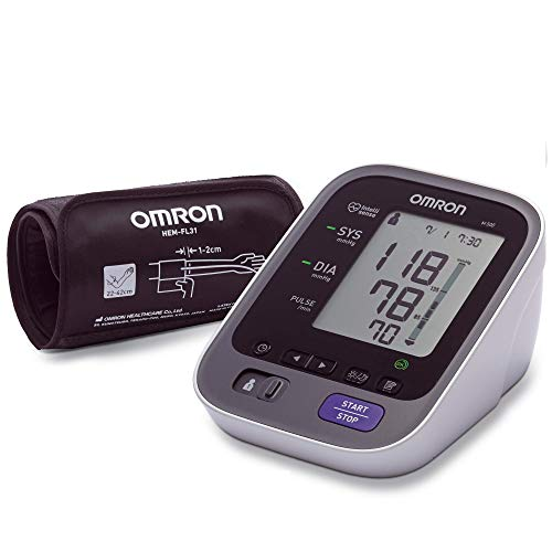 [Altes Modell] Omron M500 Oberarm-Blutdruckmessgerät mit Intelli Wrap...