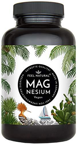 Magnesium Kapseln - 365 Stück (1 Jahr). 664mg je Kapsel, davon 400mg...