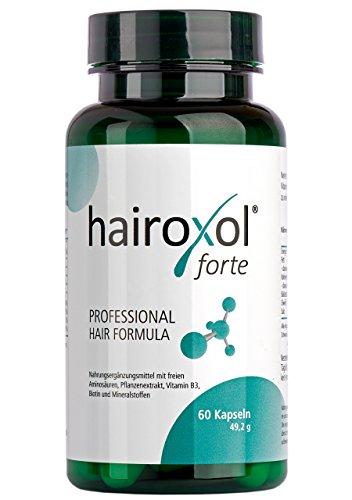 Hairoxol Vitamine für Haare von Frauen + Männer |...