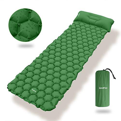 Deeplee Camping Isomatte,Einzelne Schlafmatte Ultraleichte Isomatte für...