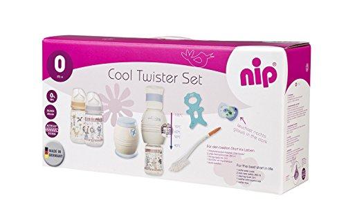 nip Fläschchenwasser-Abkühler Cool Twister 6-teiliger Set: Kühlt...