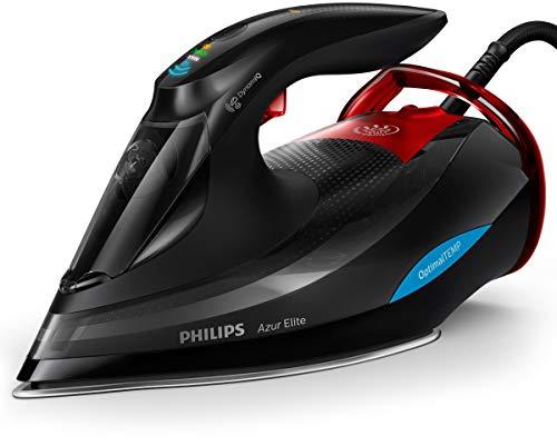 Philips GC5037/80 Azur Elite Dampfbügeleisen, DynamiQ-Sensor, 0.35 L, 3000...