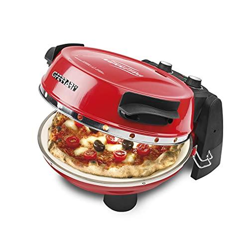 G3Ferrari elektrischer Pizzaofen Napoletana, bis 400 Grad mit Naturstein...