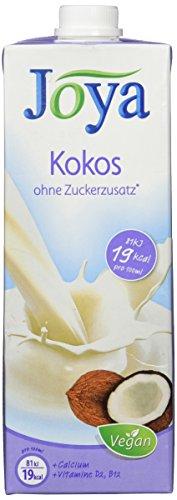 Joya Milchalternativen Kokos Drink - Kokosmilch, ohne Zuckerzusatz,...