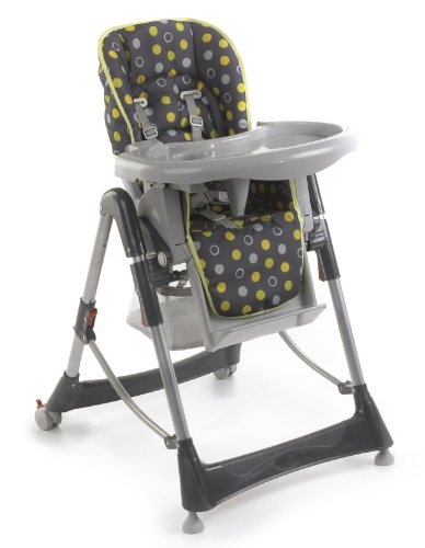 Chic 4 Baby 335 42 Hochstuhl, Rückenlehne und Sitzhöhe verstellbar,...