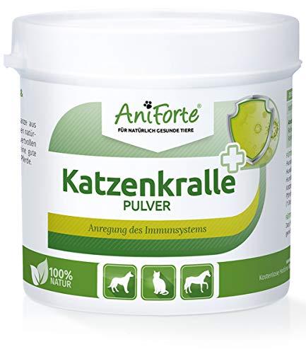 AniForte Katzenkralle Pulver 100g für Hunde, Katzen und Pferde - 100%...
