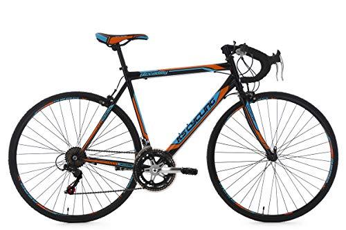 KS Cycling Rennrad 28'' Piccadilly schwarz-orange-blau RH59cm