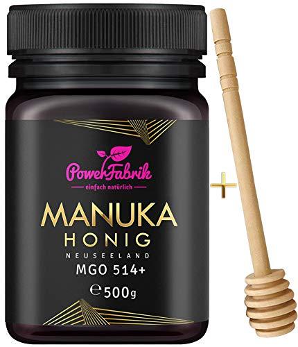 Manuka Honig | MGO 514+ | 500g | Das ORIGINAL aus NEUSEELAND | HOCHAKTIV,...