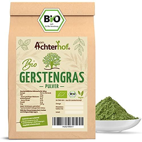 Gerstengras Pulver BIO (1kg) | Aus deutschem Anbau | Rohkostqualität |...