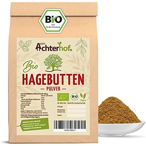 Bio Hagebuttenpulver (1kg) | ganze Hagebutte gemahlen | 100% ECHTES Bio...