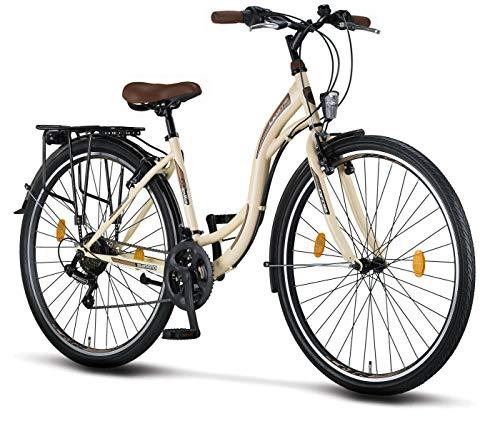 Licorne Bike Stella Premium City Bike in 28 Zoll - Fahrrad für Mädchen,...