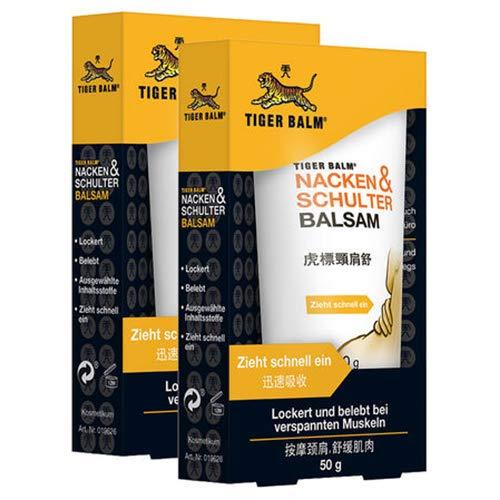 TIGER BALM Nacken & Schulter Balsam – Natürlicher Balsam bei...