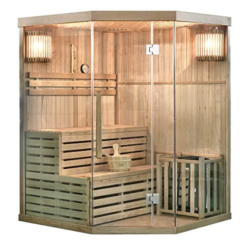 Home Deluxe - Traditionelle Sauna - Skyline XL - Holz: Hemlocktanne -...