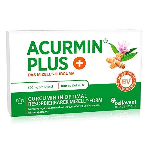 Mizell Kurkuma Kapseln – extra hoch dosiert – C14 geprüft & mehrfach...