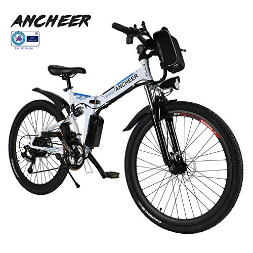 ANCHEER E-Bike Elektrofahrräder E Klapprad, 36V Akku, 26 '' faltbares...