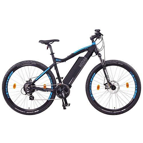 NCM Moscow E-Bike, E-MTB, E-Mountainbike 48V 13Ah 624Wh - 27,5' Schwarz