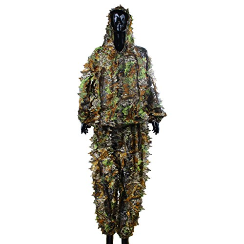 Tarnkleidung - TOOGOO (R) 3D Ahornblattform Dschungel Blatt Erwachsene...