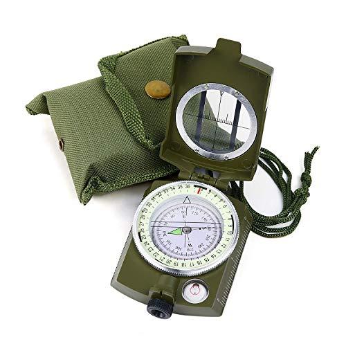 Sportneer Militär Marschkompass, Professioneller Taschenkompass...
