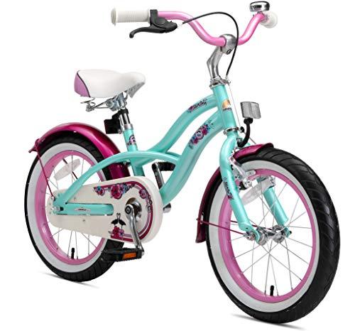 BIKESTAR Kinderfahrrad für Mädchen ab 4-5 Jahre | 16 Zoll Kinderrad...