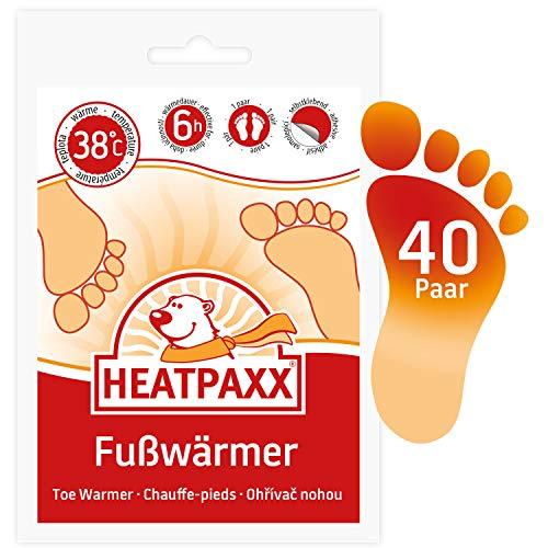 HeatPaxx Fußwärmer   40 Paar   EXTRA WARM   Hauchdünne Zehenwärmer,...