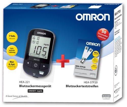 Omron Blutzucker-Vorteilspack, in mg/dL