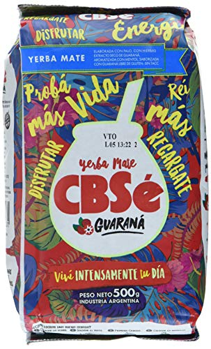 CBSÃ Mate Tee - Energia - mit Guaraná, 1er Pack (1 x 500 g)