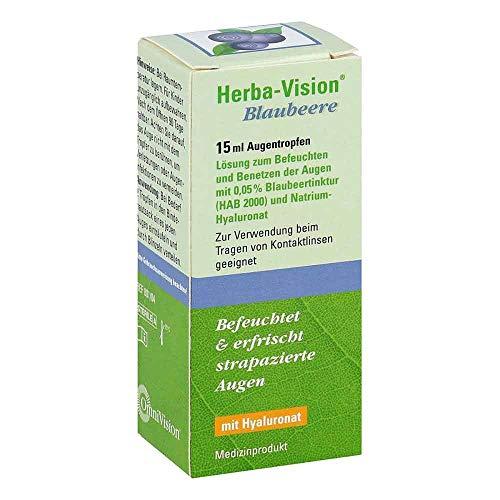Herba-Vision Blaubeere Augentropfen, 15 Ml