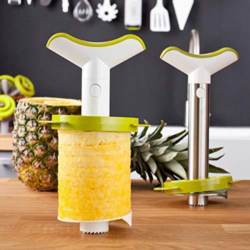Tomorrow's Kitchen (bislang Vacu Vin) - 48702606 Ananasschneider Deluxe 3er...