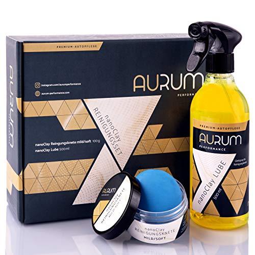 Aurum-Performance® Reinigungsknete mit Gleitmittel zur professionellen...