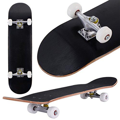 COSTWAY Skateboard Minicruiser Komplettboard Longboard Funboard Holzboard...
