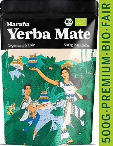 MARANIA® Yerba Mate Tee Bio No.1 ● Vergleichssieger 2020¹ ● 500g...