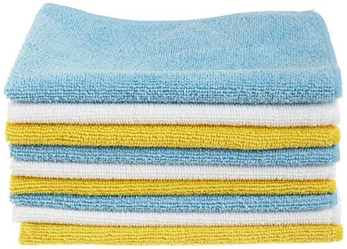 Amazon Basics Mikrofaser-Reinigungstücher, 24 Stück